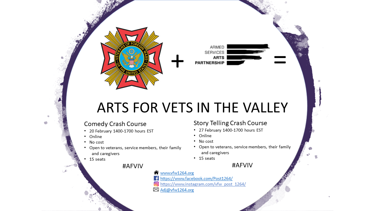 Arts For Vets In the Valley